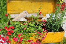 Lots of GARDEN JUNK... / by Laurel Putman @Chipping with Charm