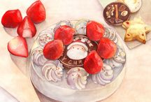 - ✤ Illustration Food ✤ - / by Kyoko Aouichi