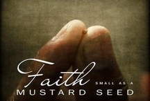 "Faith / Faith... is trust, hope, and belief in the goodness, trustworthiness or reliability of a person, concept, or entity. It can also refer to beliefs that are not based on proof (e.g. faith that a child will grow up to be a good person). Faith in religion is a belief in a transcendent reality, a religious teacher, a set of teachings or a Supreme Being. Generally speaking, it is offered as a means by which the truth of the proposition, ""things will turn out well in the end,"" can be enjoyed in the present and secured in the future. This faith appeals to transcendent reality, or that reality which is beyond the range of normal physical experience (e.g. the future). / by Kym P."