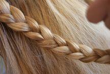 Hair // Les coiffures parfaites /  Des idées de #coiffures à gogo ! des #tresses en veux tu en voilà :-) #beauty #hair #braid  / by Marie-Eva Gatuingt