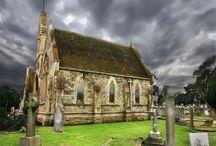 Churches / by Barbara Mills