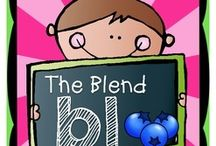 {Classroom Literacy} Blends / by Heather Mix