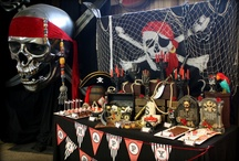 Pirate Party Ideas / Here you will find fun ideas for your pirate themed parties. / by Cristy Mishkula @ Pretty My Party
