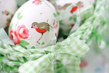Pâques & Easter / #Pâques #Easter #イースター / by Etsuko Osaka