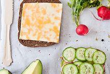 Soup Sandwich Salad / by Kaitlyn LaRue
