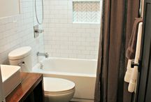 Downstairs half Bathroom update  / by Melinda Lear