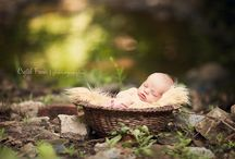 Outdoor Newborns / by Therese Marie Photography