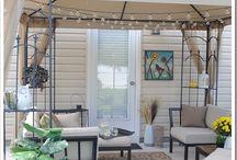 Balcony or patio ideas / by Plantation at Horse Pen Creek