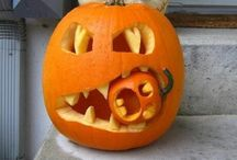 Pumpkin carving / by Samantha Womack