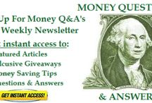 Best Of Money Q&A / by Hank Coleman