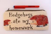 Hedgehog Love / by Courtenay Morgan