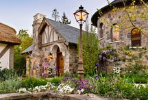 English Tudor Designed by Linda L. Floyd, Interior Design / A new construction project using old world materials.  The custom woodworking and interior architectural details create a timeless environment with European history and vitality.   / by Linda L. Floyd Interior Design