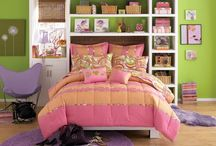 Pink and Orange Bedding Sets / ♥ pretty pink and orange bedding sets, comforters, quilts, bedspreads and even d bedroom decor items like curtains, wall pictures, lamps and other stuff in the colors pink and orange. / by Lesley Stevens