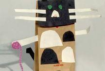 Kids crafts / by Charlotte