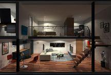 Interior/Exterior Design / by Kenneth Wiggins