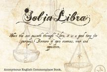 Sol in Libra - Chap 23-28 of The Book of Life / This section covers Sol in Libra - Chapters 23 through 28 of The Book of Life by Deborah Harkness. / by Armitage4Clairmont