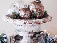 Christmas decorations / by Kathy Walsh