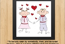 Frames of Love and Marriage / A collection of inspirational #quotes about #love and #marriage set as beautifully framed images.  More inspiration at http://ILoveBeingHappilyMarried.com  / by I Love Being Happily Married
