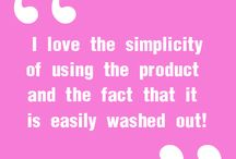 Customer Quotes / Quotes we have gotten from our customers / by Funlights™ Hairlights™