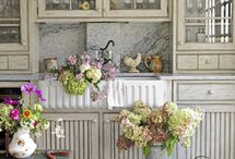 Kitchens / These are the Dream..Dream..Dream Kitchens of all shapes and sizes and styles ... Beautiful unatainable kitchens and budget maybe someday kitchens .... / by Debbi Burnie