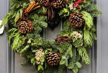 ANYTIME FALL/WINTER WREATHS / by Cindy Marlowe