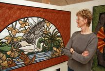A EVA JOHANSEN QUILT DK / SHE IS A AMAZING DANISH QUILTER, WHO DO SO COOL QUILTING IN EVERY QUILTS SHE MAKES....:-) / by Dorte Rasmussen.Denmark