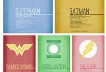 my superheroes / by vinjie berano