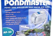 Pond Necessities / Petmountain.com provides the best pond supplies at the lowest prices. These products can be purchased at up to 50% Off!  / by PetMountain.com