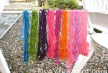 Dyeing Yarn - Resources / Tips and techniques for beginning dyers. / by Indigo Kitty Knits