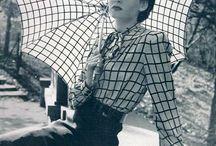 1940s Fashions / Fashions from the World War II era. / by Sarah Sundin