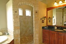 Master bath ideas / by Jessica O'Connell