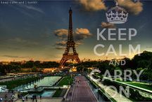 Keep Calm and Carry On / by YOUREYESLIE Clothing