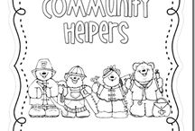 Community helpers / by Karmen Potter