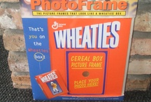 Wheaties Box Photo Frame / by Andie A