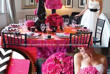 Black & Fuchsia Wedding / Ideas for Sharla's Wedding - August 2012 / by Rachel - Haute Chocolate