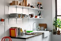 Kitchen and Dining / Where you cook and eat. Sometimes it's the same room; sometimes it's not. / by Rughy H