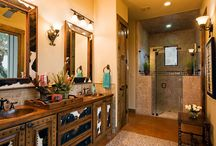 bathrooms / by Pam Taylor
