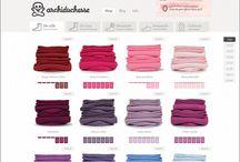 E-commerce: web design inspirations / Showcase of e-commerce web sites / by Pupixel Studio