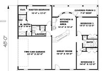 Across The Way - house plans / by Pat Hughes