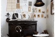 man home / vintage industrial bearded furnishings / by konstance lee