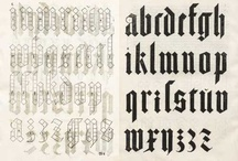 Typography / by Andreas W. Schnell