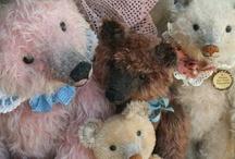 teddy bears / by jean Marmion