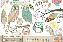 Printables, templates and patterns <3  / by Jessica Avery