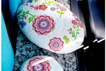 Painted rocks / by Donna Zerbian