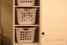Pantry and laundry ideas / by Frankie Beno