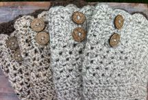 I love to crochet boot cuffs & leg warmers / by MaryAnne M