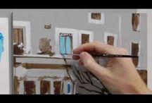 Acrylic painting tutorials / by Mary Hall
