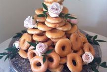 Southern Wedding Ideas / How bout serving a Krispy Cream Doughnut cake at your wedding or serve Seafood Ceviche out of your dinner napkins? At this particular outdoor wedding, our bride and groom did just that! By adding some unexpected ideas to a traditional event, the bride and groom's guests were treated to an elegant atmosphere filled with an emphasis on the small details. / by We Rent Atlanta