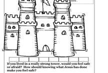 Sunday School Worksheets / by Leslie Hartman