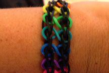 Rainbow loom / by Stephanie Wolv
